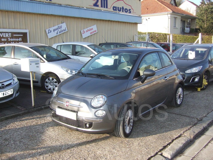 Fiat 500 face
